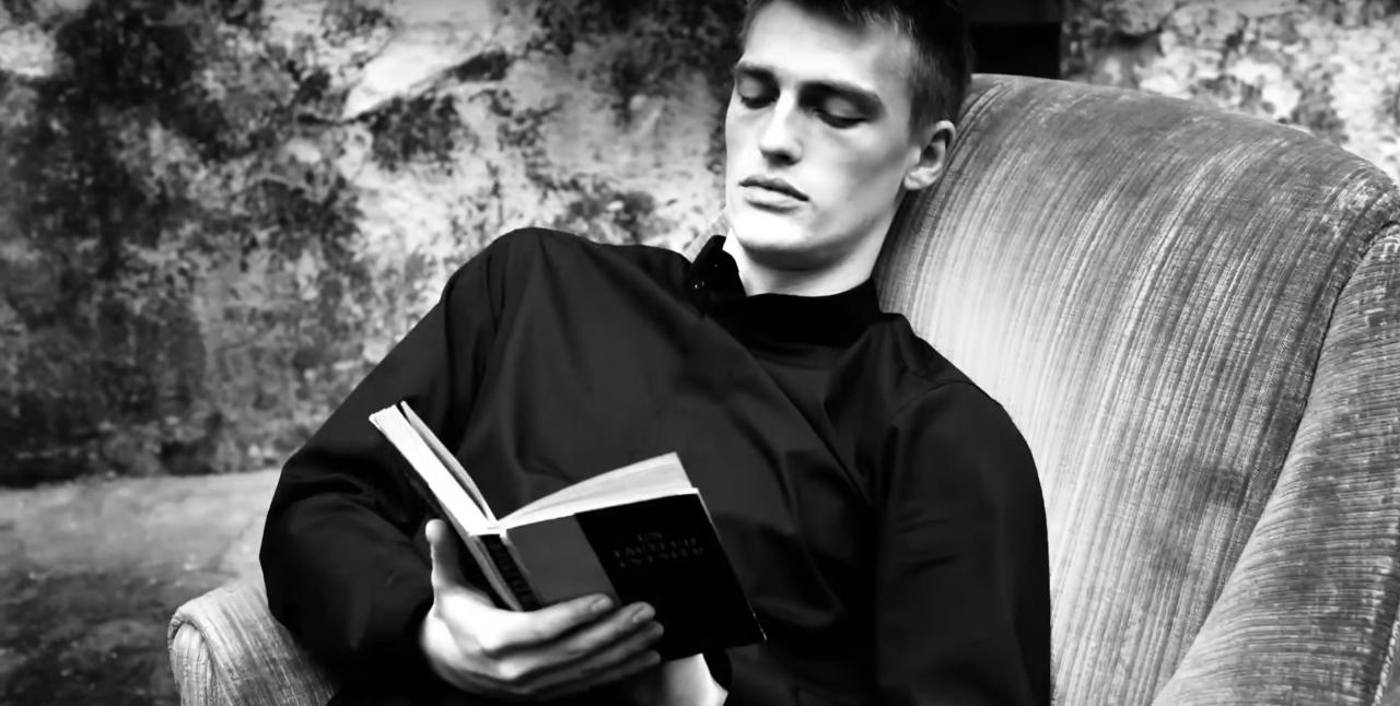 Victor Nylander Dior Homme Campaign